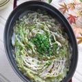 花椒が味の決め手♪ staubで 豚バラと白菜のミルフィーユ鍋 (〆はラーメン)