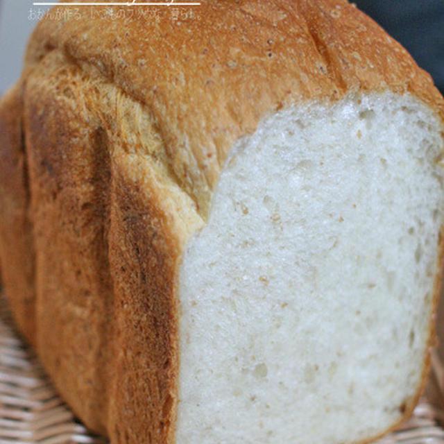 HBでやきっぱなしのグラハム入りパン