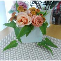 花と料理で楽しむ♪ハッピーハロウィン☆鯛とドラゴンフルーツのカルパッチョ♪