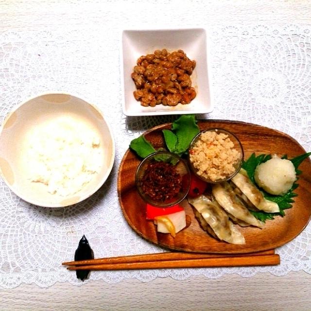 冷凍豆腐で餃子ごはん~スタバの新作~