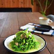 【レンジ副菜】噂の無限ピーマン〜にんにくこしょう風味〜 かわいいお手軽アートなカフェラテ