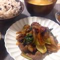時短レシピ【10分でバランス◎✨牛肉のオイスターソース炒め】