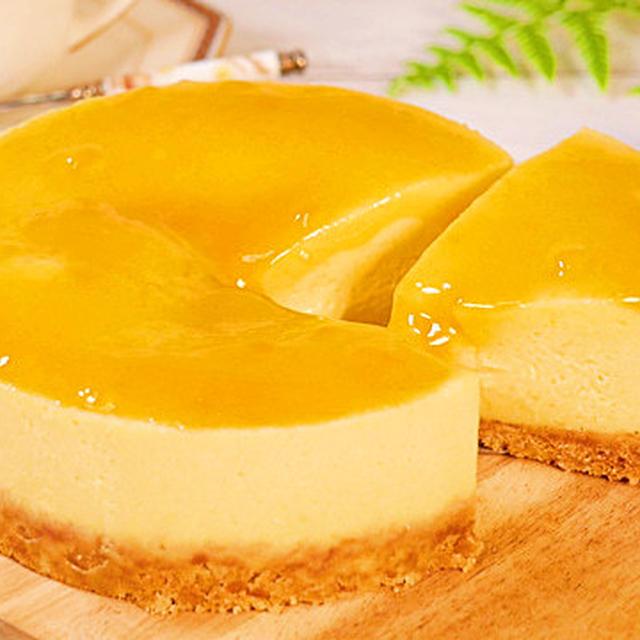 フライパンで作る簡単チーズケーキ