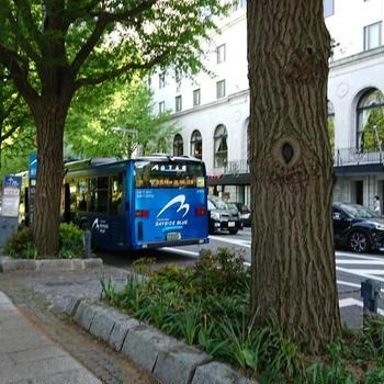 連接バス「BAYSIDE BLUE」に乗ってきた(横浜)