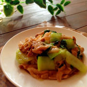 豚肉とチンゲン菜のあんかけご飯♡