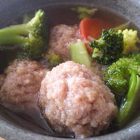 すりおろし赤かぶの肉だんご温まろスープ タバスコ(R)ブランド ペパーソース