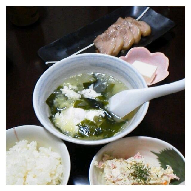 昨日の夕ご飯☆