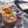 オムレツ&鳥トマト煮のせ弁当