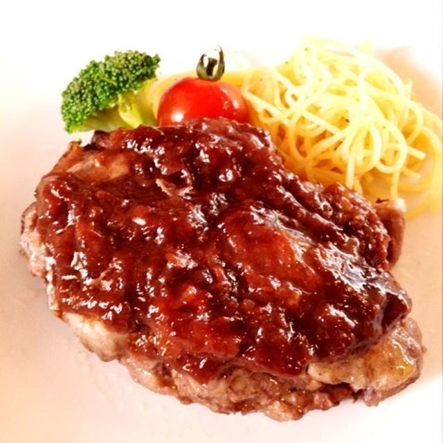 昨日の晩ご飯「鶏肉の赤ワイン煮込み」