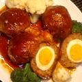 マンモスの肉 no 煮込みハンバーグ by NANA BOMBERさん