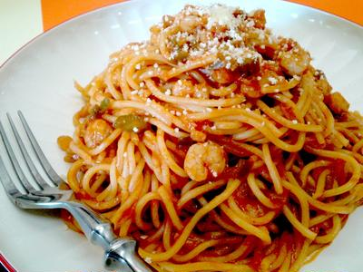 【レシピ】 基本の! スパゲティナポリタン(^^♪