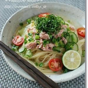 暑い時期はひんやりがおいしい♪「冷製スープパスタ」レシピ