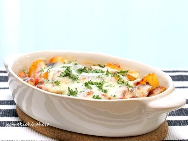 7. トマトソースでじゃが茄子グラタン