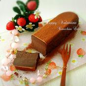 基本材料2つ♪カカオ70%&ミルクチョコde作る♪濃厚生チョコレートケーキ