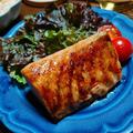 たまには贅沢もいいよね♪めんつゆだけでとっても美味しいサーモンステーキ