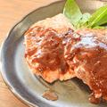 一皿300円!とても牛なご馳走肉汁ポーク赤ステーキ(糖質8.2g)