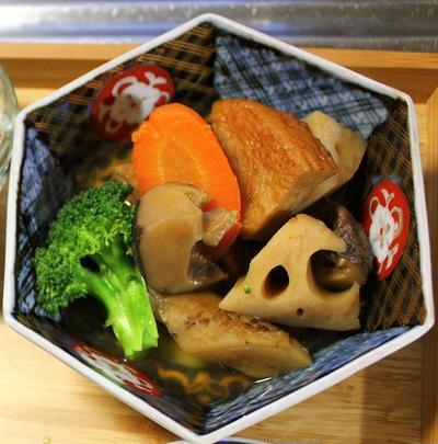 根菜の煮つけ