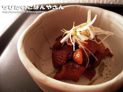 鶏皮の甘辛煮 ★★☆☆☆