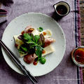 梅ドレッシングでブリーと合鴨ハムのサラダ by naomiさん