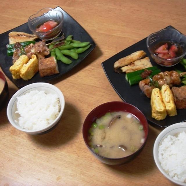 昨夜は和食プレート晩御飯!