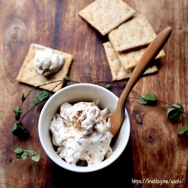 いちじくとくるみのクリームチーズ和え♡【#簡単レシピ#おつまみ】