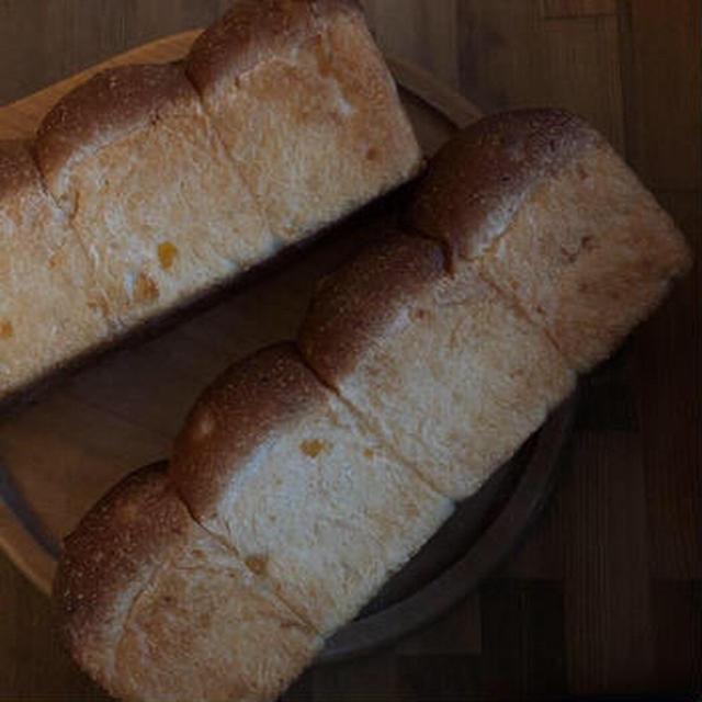 冷蔵発酵でコーン食パン
