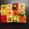 フォトジェニックな素敵お寿司!「モザイク寿司」