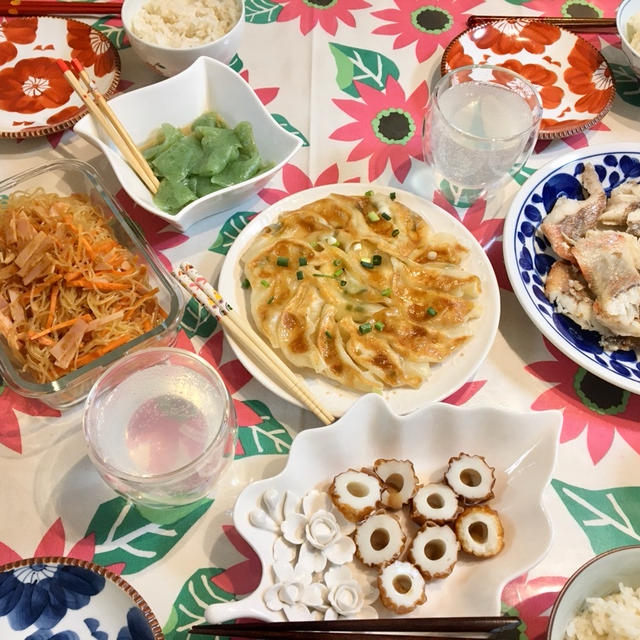 【ついに野菜がなくなった】ネギと人参とカボチャだけの晩ごはん…