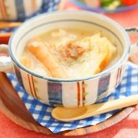 【モニター】シャウエッセンとチーズが絡むオニオングラタンスープ