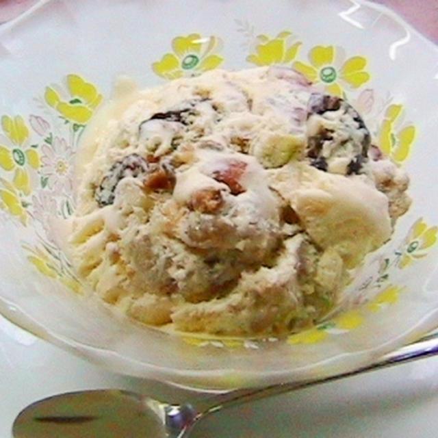 カリフォルニア・ナッツ&ドライフルーツ  de  アイスクリーム☆☆