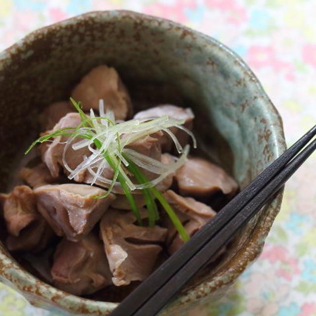 作り置いてさらに美味しい【砂肝酢】レシピ ~意外に知らない砂肝の栄養価 & 冷蔵庫の中の写真!