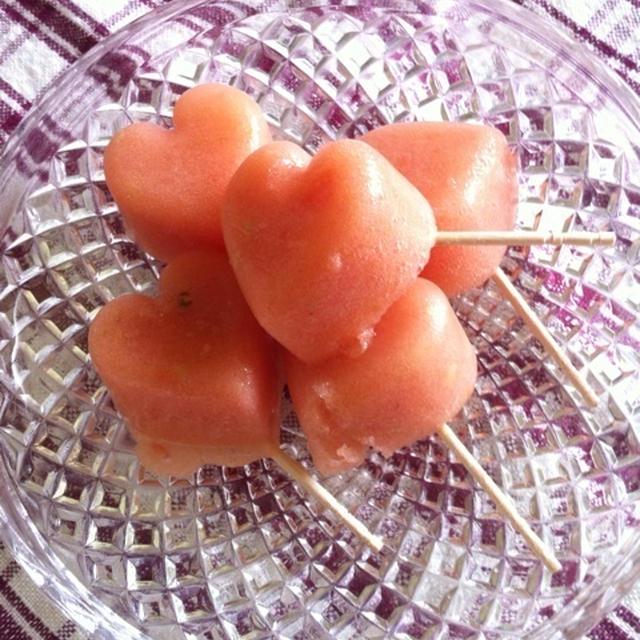 ☆夏のおやつにピッタリ・トマト氷☆