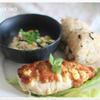 鶏ムネ肉の味噌マヨ焼き 山椒風味