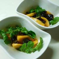 プルーンと柿の簡単サラダ☆