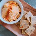 栄養酵母でチーズ風ディップ & インカインチ入りたんぱく質たっぷりのロークラッカー【プラントベース】