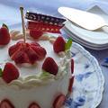 卵白不使用のスポンジケーキ①