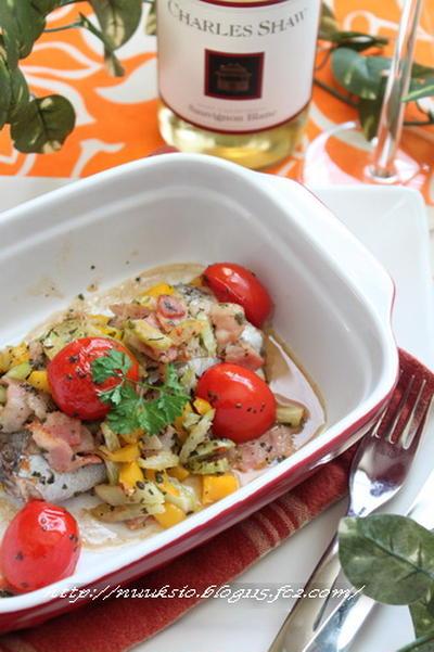 イタリアンな太刀魚♪