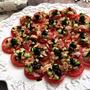 切り方次第でおしゃれな一品に~♪トマトのカルパッチョ風サラダ by yuko