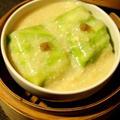 柚子胡椒香る・豆腐の春キャベツロール・西京味噌の餡で、ともずく酢で手酌酒 by 酔いどれんぬさん