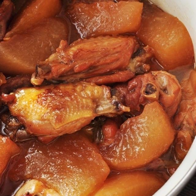 大根と鶏肉の田舎風こっくり煮