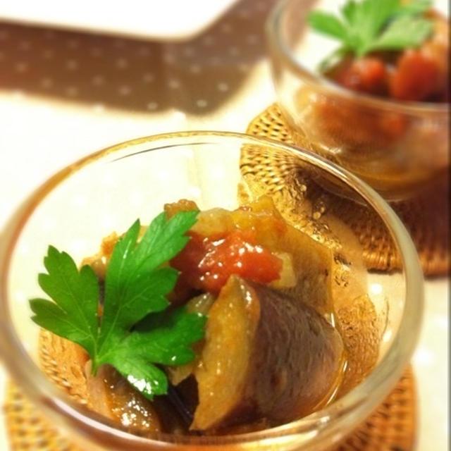 茄子のマリネ☆バルサミコ風味