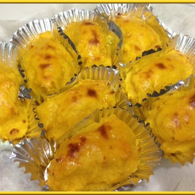パスタのデザート!洋菓子屋みたいに美味しいスィートポテトレシピ