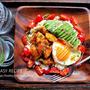 ♡鶏むね肉deチキンロコモコ♡【#簡単レシピ#時短#節約#カフェごはん】