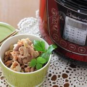 安い豚肉で柔らか絶品豚丼を!/電気圧力鍋を愛用する理由&動画もどうぞ