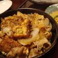 厚揚げと豚トロの生姜焼き・菜の花と大根の味噌卵とじ by しまちゅう(旅情家)さん