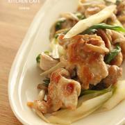 豚肉と長ネギの昆布茶炒め~梅風味~ by uzukajiさん