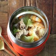 スープジャーに入れるだけ!簡単具だくさんちゃんぽんスープ弁当レシピを紹介