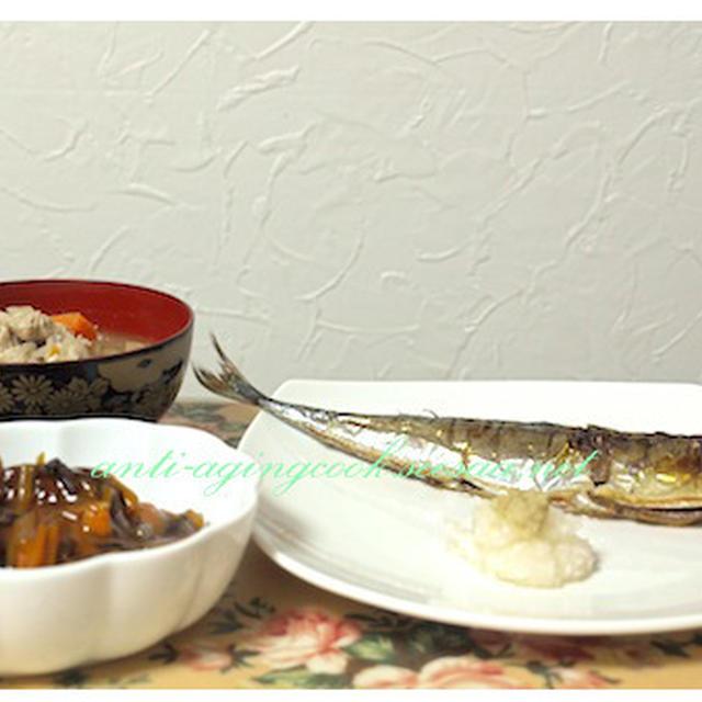 秋のさんまを食べました。EPA DHA