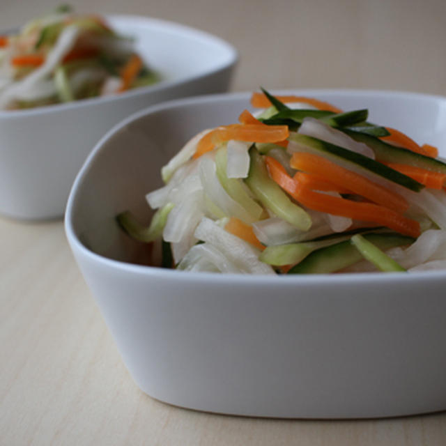 3種の甘酢漬けサラダ