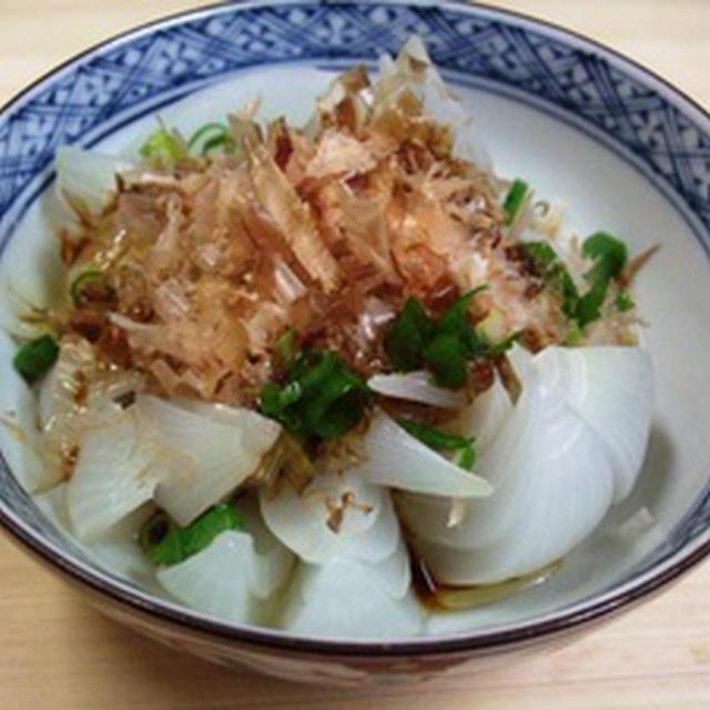 玉ねぎの花サラダ